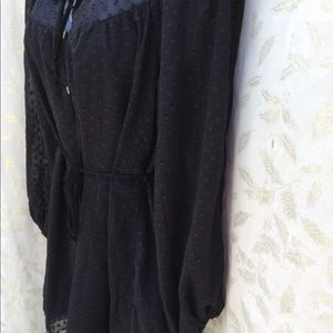 Urban Outfitters Shorts - Urban Outfitters Romper sz XS black lined polyeste